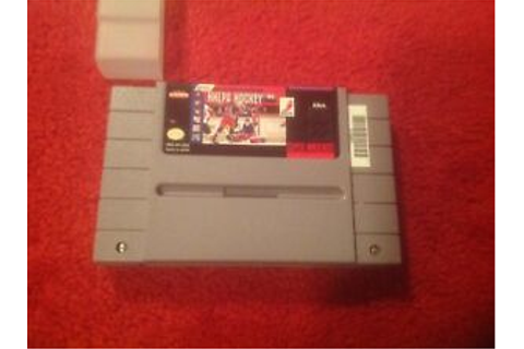 NHLPA Hockey 93 (Super Nintendo Entertainment System, 1992 ...
