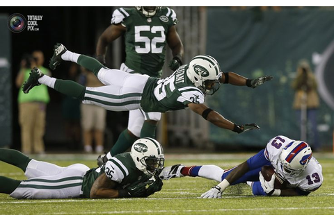 New York Jets Trufant dives to help bring down Buffalo ...
