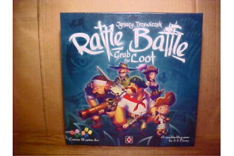 """RATTLE BATTLE"" Grab The Loot Game by Portal Games-New ..."