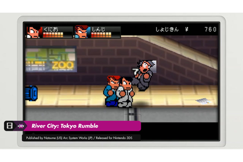 River City: Tokyo Rumble (3DS) - Story & Dodge Ball Mode ...