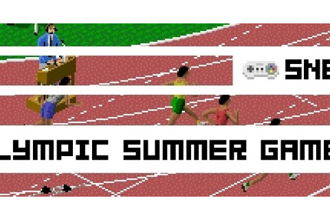 Boxed Pixels: Snes Review - Olympic Summer Games (Game 112)