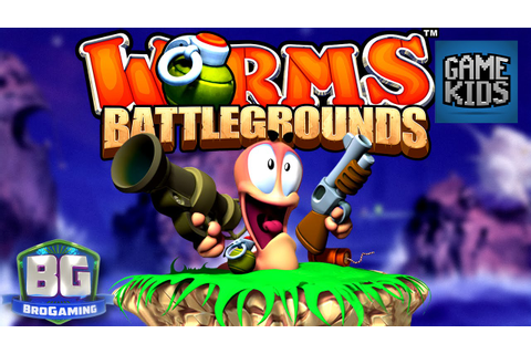 Worms Battlegrounds Gameplay #2 - Bro Gaming - YouTube