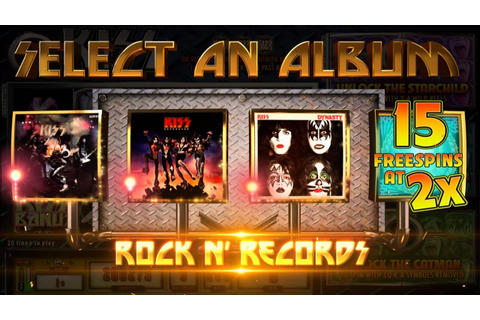 VIDEO: Rock 'N Roll Legends KISS New Slot Game - YouTube