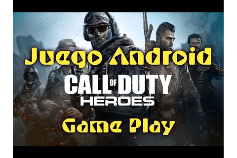 Call of Duty Héroes•Game Play•Android-Review - YouTube