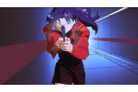 Image - Misato attacking JSSDF soldiers (EoE).png ...
