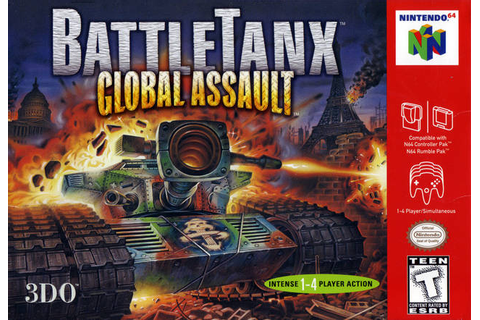 BattleTanx Global Assault Nintendo 64 Game