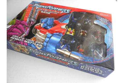 Review - Transformers Armada: Battle for Cybertron Game ...