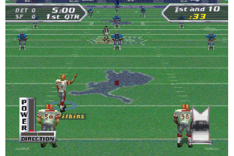 NFL Quarterback Club 97 Screenshots for SEGA Saturn ...