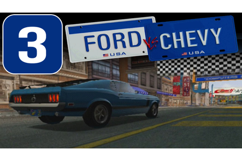 Ford vs. Chevy [HD][PS2] - Stage #3 - Classic Muscle Car ...