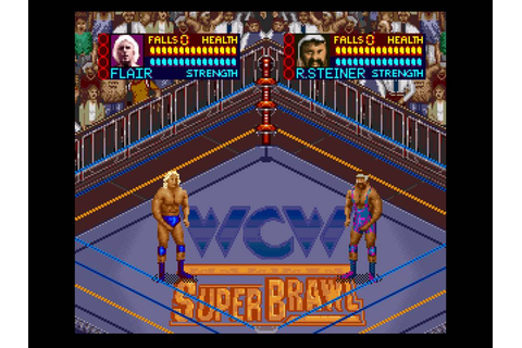 WCW Super Brawl Wrestling (USA) ROM