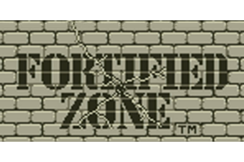 Fortified Zone | Virtual Console (Nintendo 3DS) | Games ...