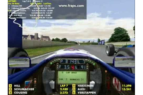 Grand Prix 3 - 1994 Canadian GP3 - Short Race - YouTube