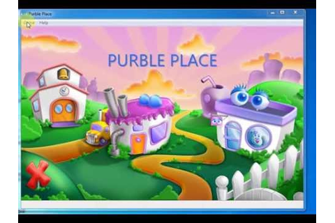 Completing Purble Place Games - YouTube