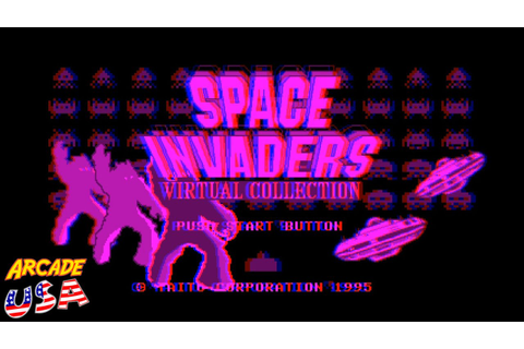 Space Invaders Virtual Collection Gameplay (Virtualboy ...