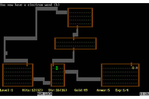 Download Rogue rpg for DOS (1983) - Abandonware DOS