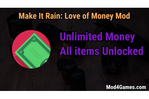 Make It Rain: Love of Money game mod apk Archives ...