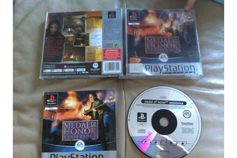 MEDAL OF HONOR RESISTANCE PS1 PS2 - brocante-boulogne-su ...