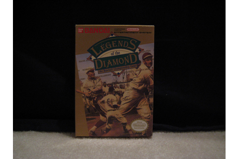 Legends of the Diamond for NES Complete in Box ...