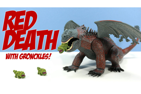 How to Train Your Dragon 2010 Red Death with Gronckles ...