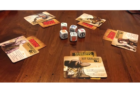 Bang! The Dice Game Review | Board Game Reviews by Josh