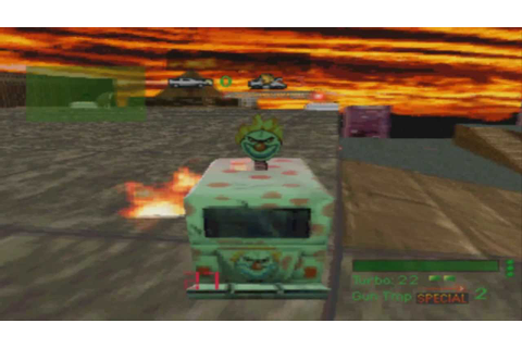 Twisted Metal (PS1) Gameplay - YouTube