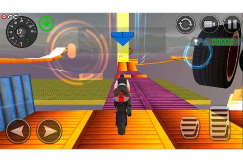 Impossible Stunts Bike Racing Games 2018 Sky Road ...