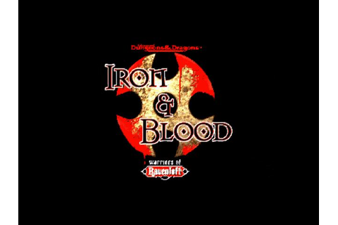 Iron & Blood - Warriors of Ravenloft Download (1997 Arcade ...