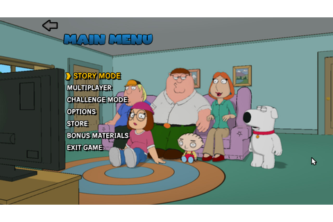 Super Adventures in Gaming: Family Guy: Back to the ...