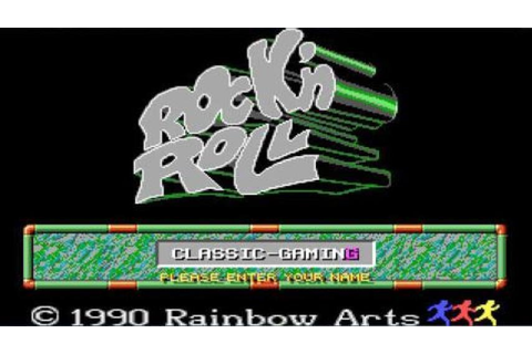 Rock'n Roll gameplay (PC Game, 1989) - YouTube