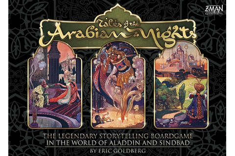 Tales of the Arabian Nights: Board Game - Spikey Bits