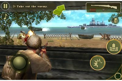 Brothers in Arms 2: Global Front iPhone game - free ...