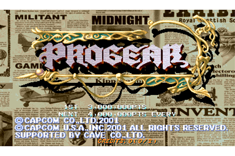 Play Progear Capcom CPS 2 online | Play retro games online ...
