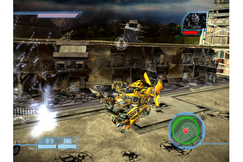 Just click download: Transformers The Game Rip