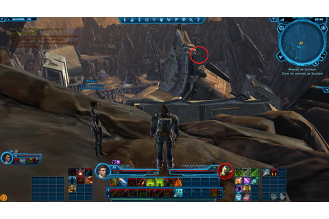 SWTOR - Droïdes de reco : Balmorra (Empire) - Game-Guide