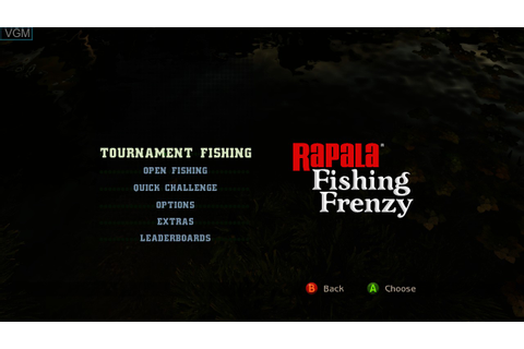Rapala Fishing Frenzy 2009 for Microsoft Xbox 360 - The ...