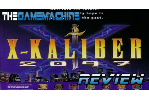 Wouldyoukindly.com – The Game Machine: X-Kaliber 2097 SNES ...