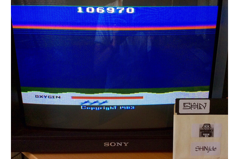 Seaquest: Game 1 (Atari 400/800/XL/XE) high score by SHiNjide