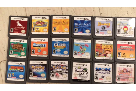Nintendo DS Game Collection - YouTube