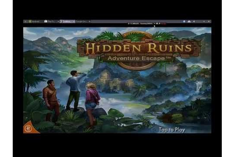 ADVENTURE ESCAPE Hidden Ruins FULL Game Walkthrough - YouTube