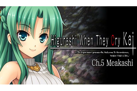 Higurashi When They Cry Hou – Ch. 5 Meakashi Free Download ...