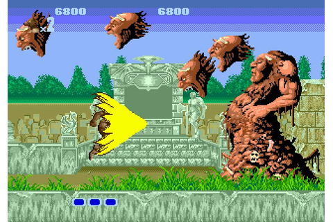 altered beast game play