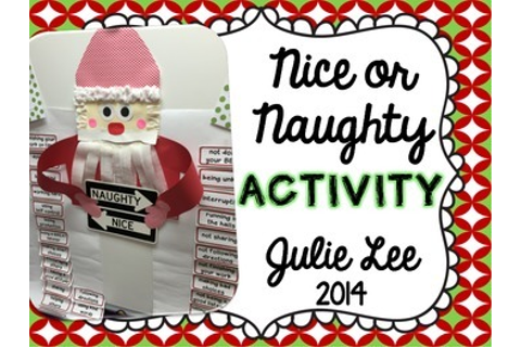 Christmas Naughty or Nice Activity | Top Teachers ...