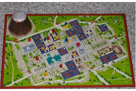 The Downfall Of Pompeii Board Game | Buy Online in South ...