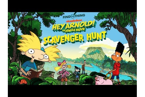 Hey Arnold!: The Jungle Movie - Scavenger Hunt ...