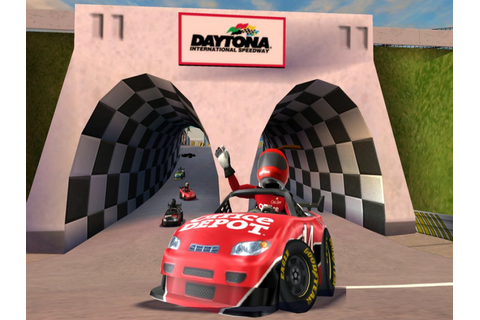 NASCAR Kart Racing Review - Wii | Nintendo Life