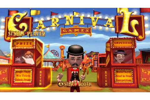 Carnival Games Wii Gameplay - YouTube