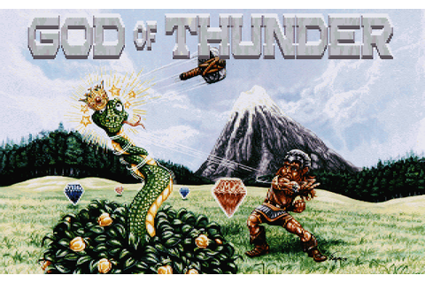 God of Thunder (1993) by Adept Software MS-DOS game