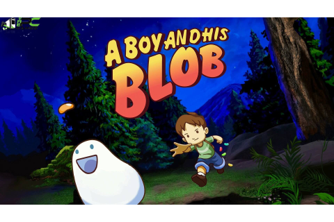 A Boy And His Blob PC Game Free Download