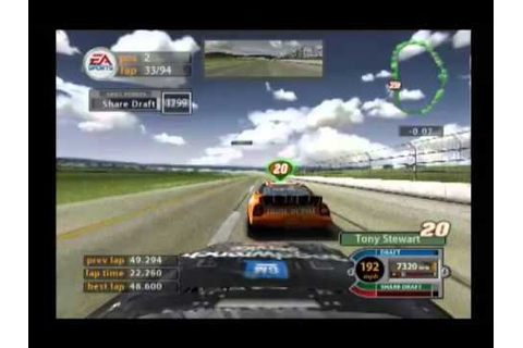 NASCAR 2005: Chase For The Cup (PS2) Gameplay: 94 Laps At ...