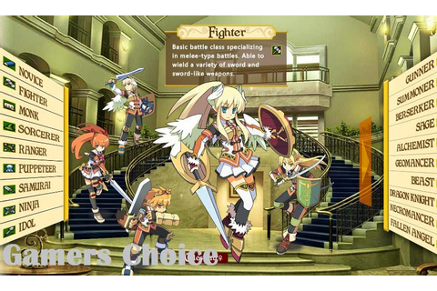 Class of Heroes 2 (USA) (PSP Game) ~ Gamers Choice